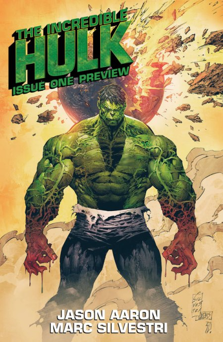 The Incredible Hulk #1 Cover