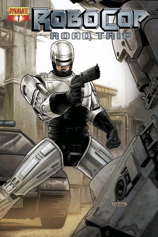 Robocop Road Trip #1 Cover A