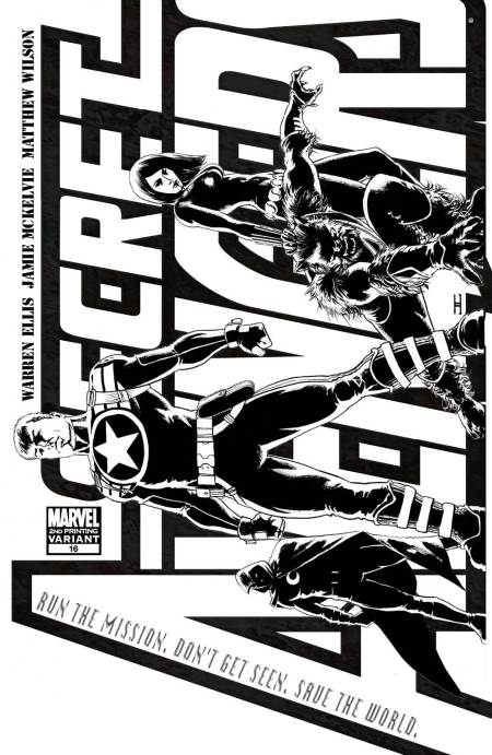 Secret Avengers #16 Cover Second Print
