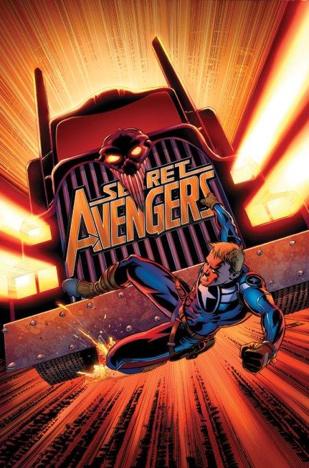 Secret Avengers #17 Cover