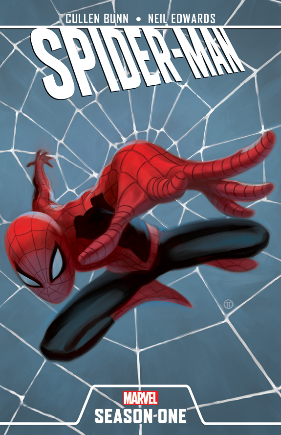 Spider-Man Season One Cover