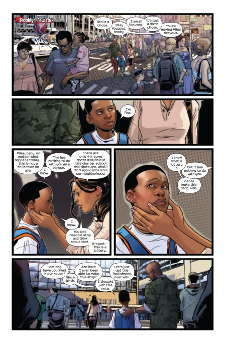 Ultimate Comics Spider-Man #1 Preview1
