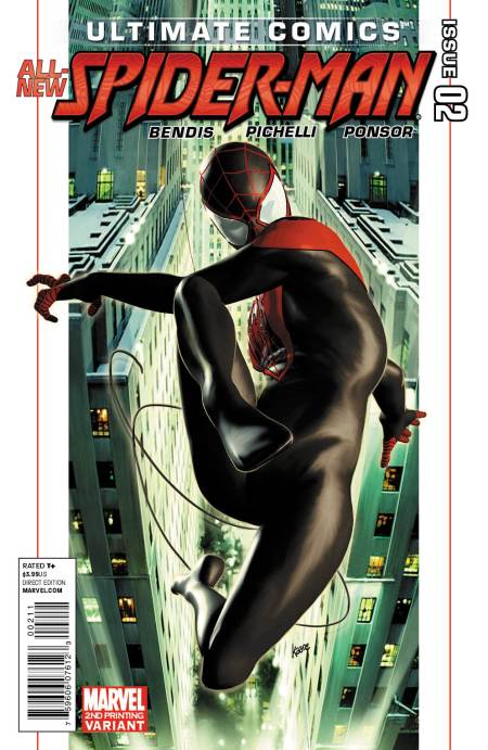 Ultimate Comics Spider-Man #2 Second Printing
