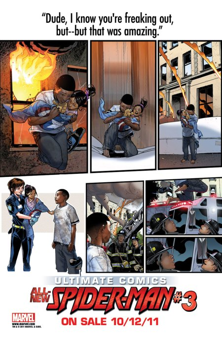 Ultimate Comics Spider-Man #3 TEASER