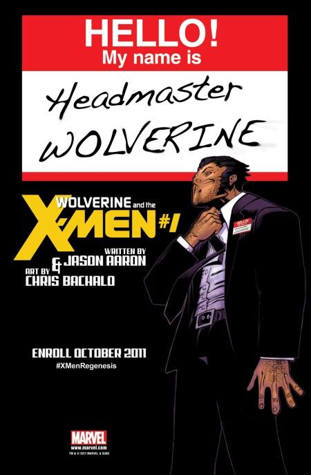 Wolverine And The X-Men #1 Teaser Headmaster