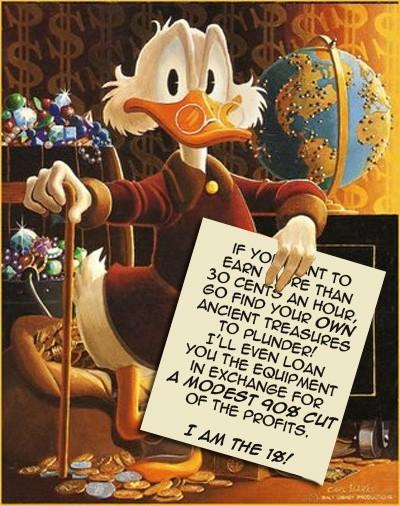 1 Percent Scrooge