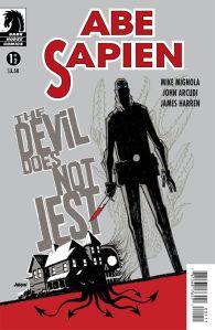 Abe Sapien The Devil Does Not Jest #1
