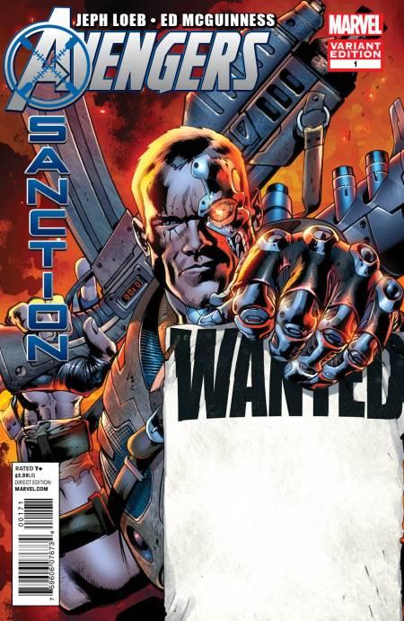 AVENGERS: X-SANCTION #1 Cover Hitch