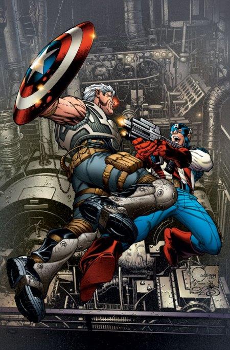 Avengers X-Sanction #1 Cover Quesada