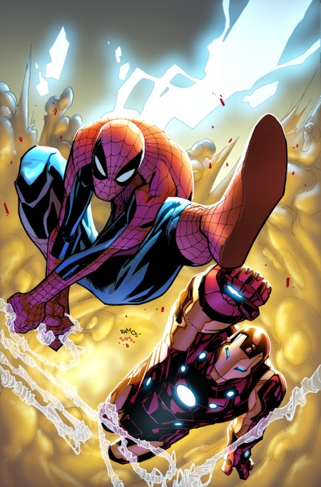 Avenging Spider-Man #1 Cover Ramos