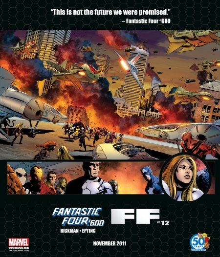 Fantastic Four #600 Tease 4