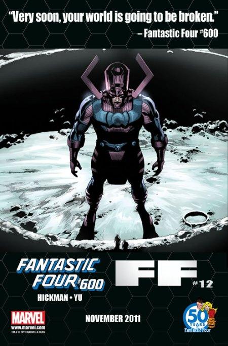 Fantastic Four #600 Tease 1