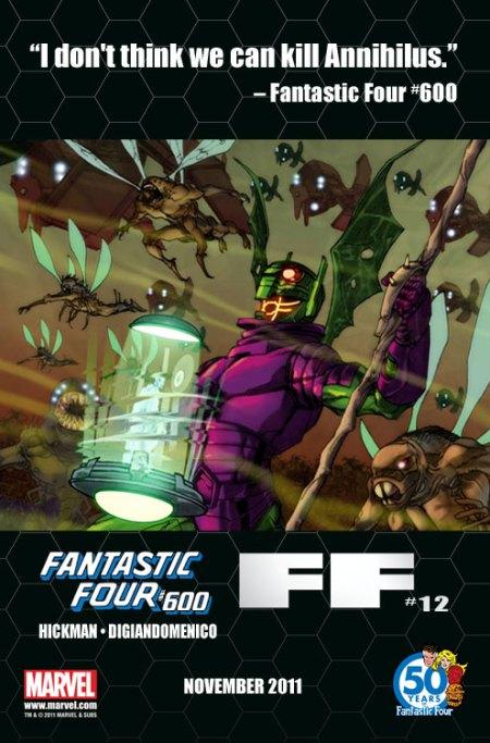 Fantastic Four #600 Tease 3