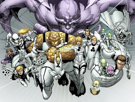 Fantastic Four #601 FF #13 Connecting Variant