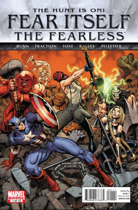Fear Itself: The Fearless #1 Cover