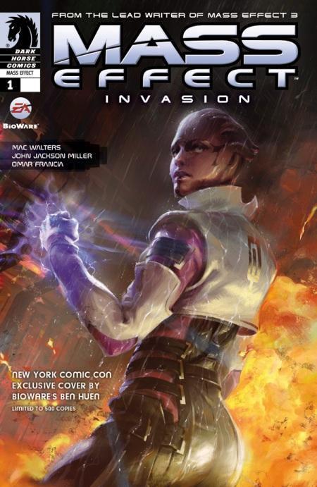 Mass Effect: Invasion CVR NYCC11