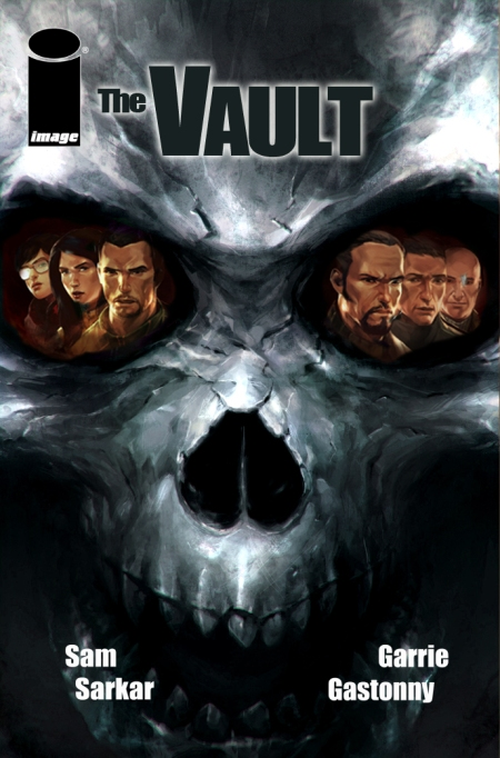 The Vault #3 Cover