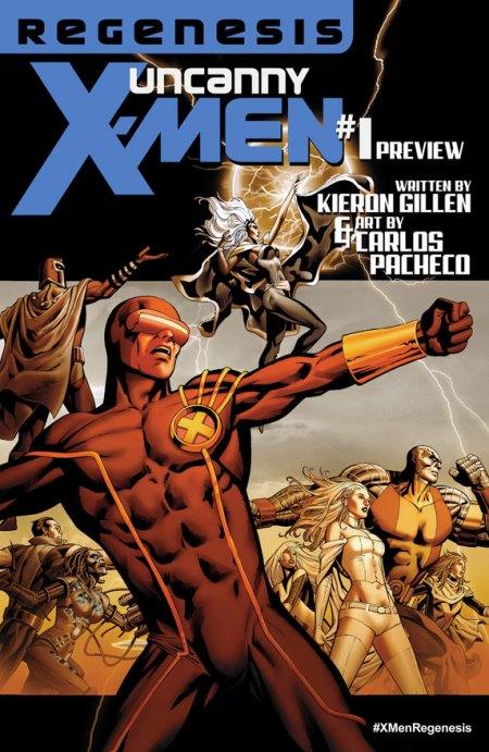 Uncanny X-Men #1 Cover