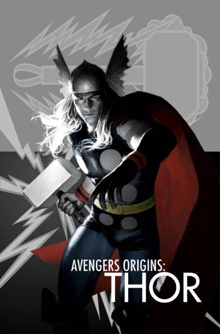 Avengers Origins Thor #1 Cover