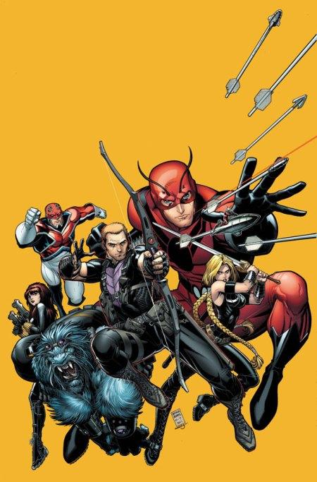 Secret Avengers #22 Cover