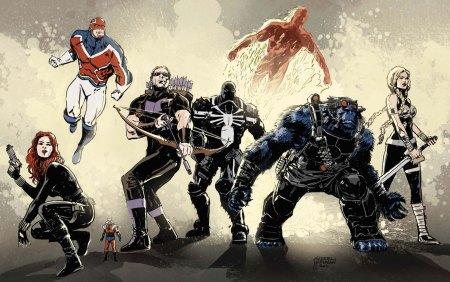 Secret Avengers #22 Cover Hardman
