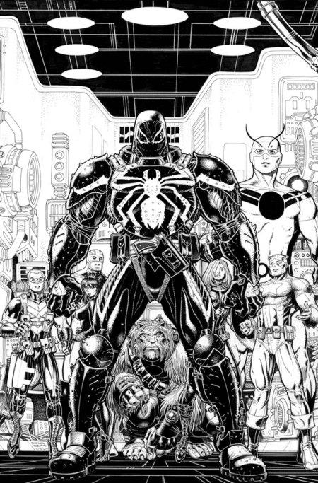 Secret Avengers #23 Cover NOT FINAL