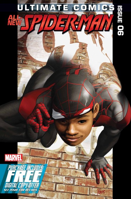 Ultimate Comics Spider-Man #6 Cover