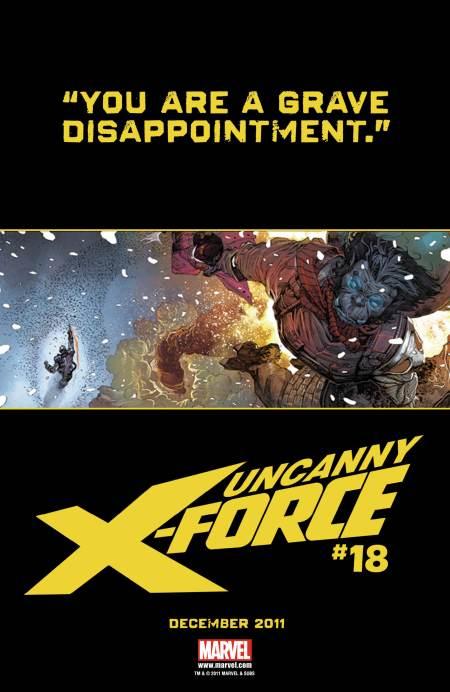 Uncanny X-Force #18 Teaser 1
