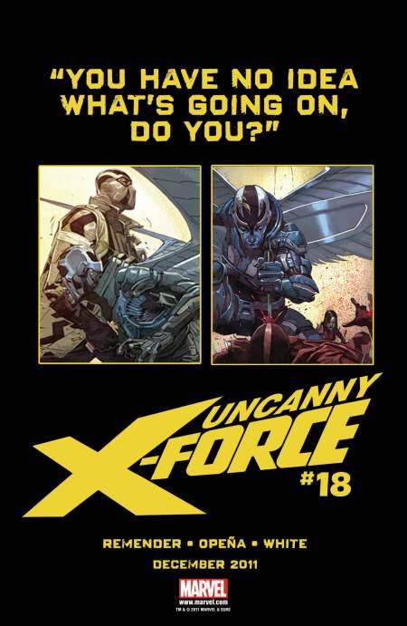 Uncanny X-Force #18 Teaser 2