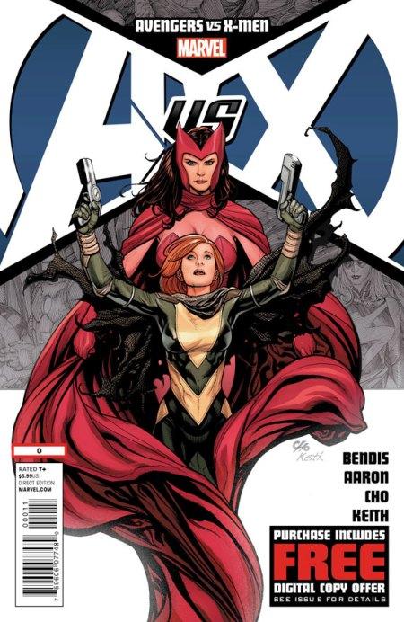 Avengers Vs. X-Men #0 Cover