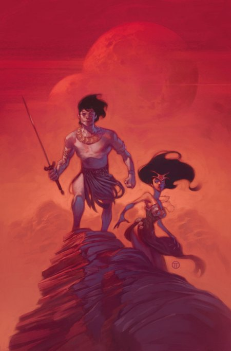 John Carter The Gods Of Mars #1 Cover