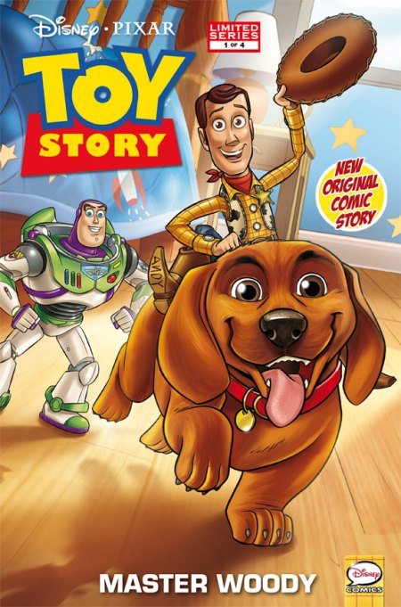 Toy Story #1 Cover