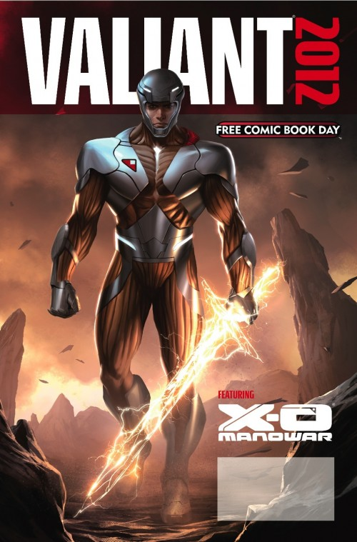 VALIANT FCBD 2012 Cover