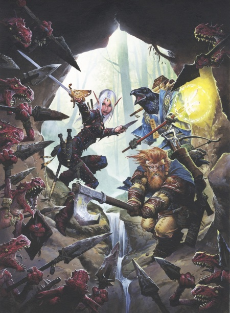 Pathfinder Roleplaying Game Now A Dynamite Comic Book