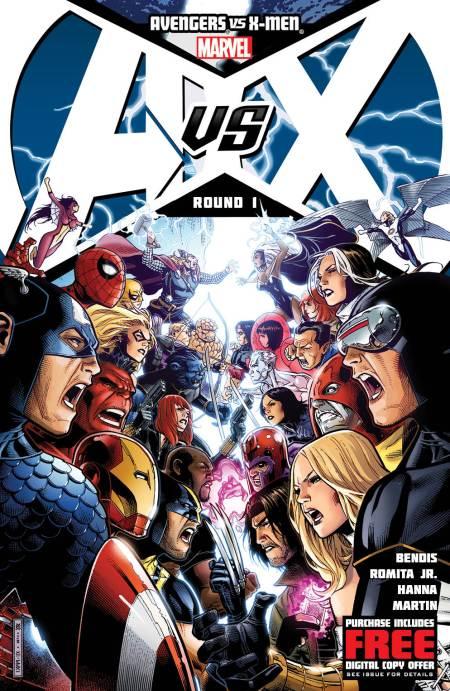 Avengers V sX-Men #1 Cover