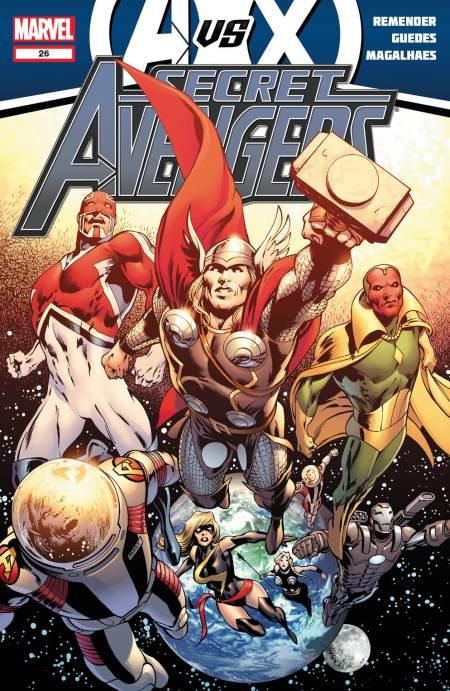 Secret Avengers #26 Cover