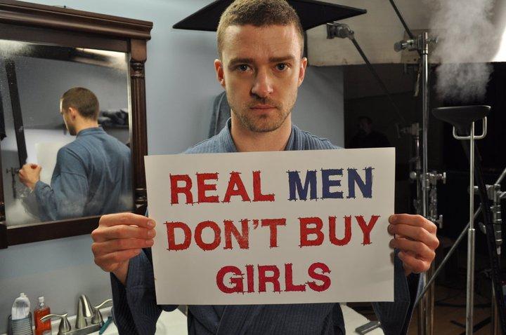 Real men don't buy marvel…