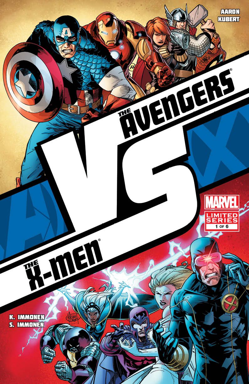 Avx: Vs #1 (feb120531) Written By Jason Aaron & Kathryn Immonen Art By Adam  Kubert & Stuart Immonen Cover By Adam Kubert Variant Cover By Stuart Immonen