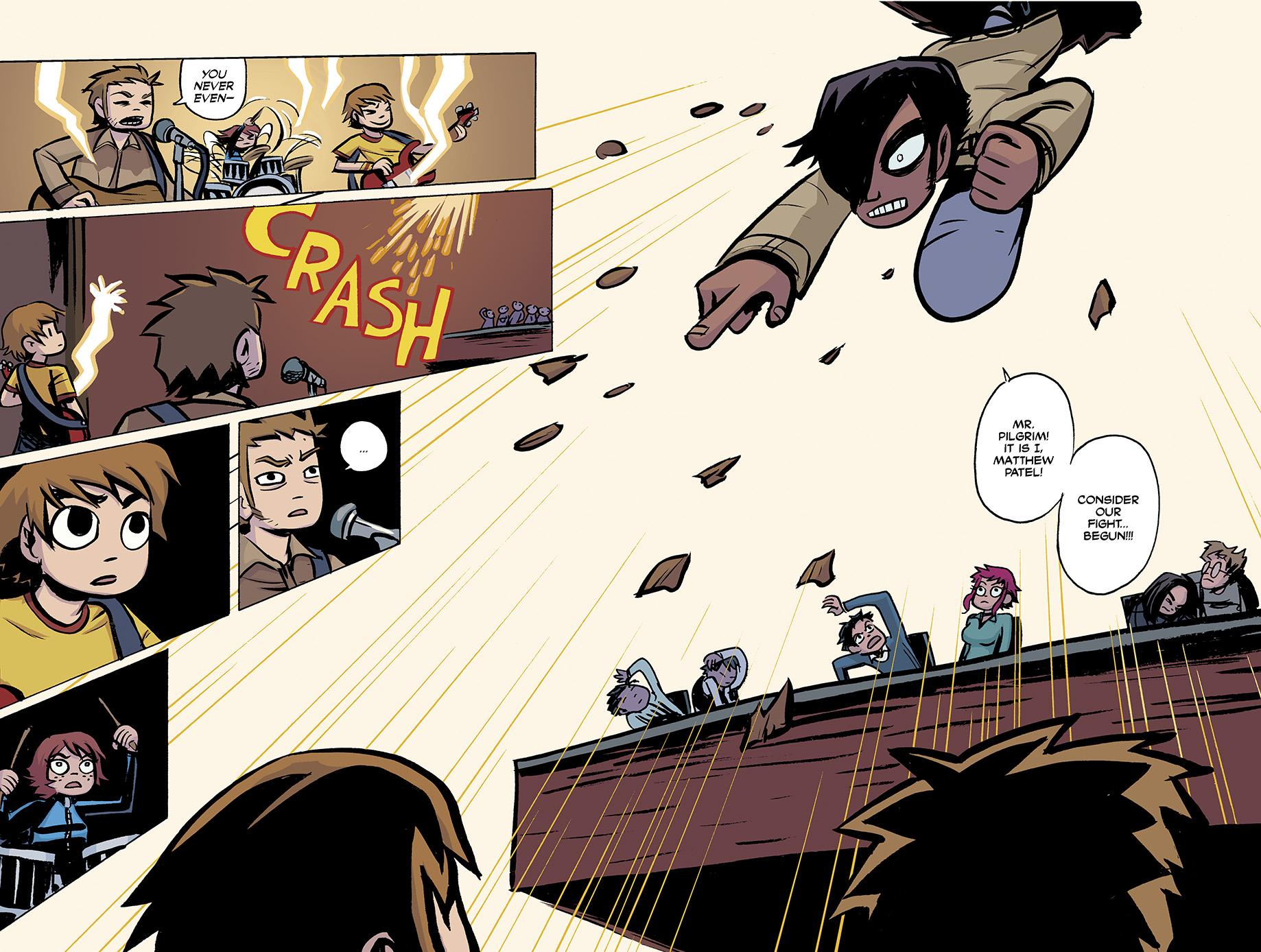 Scott Pilgrim Vs The World Comic 1-6 Pdf