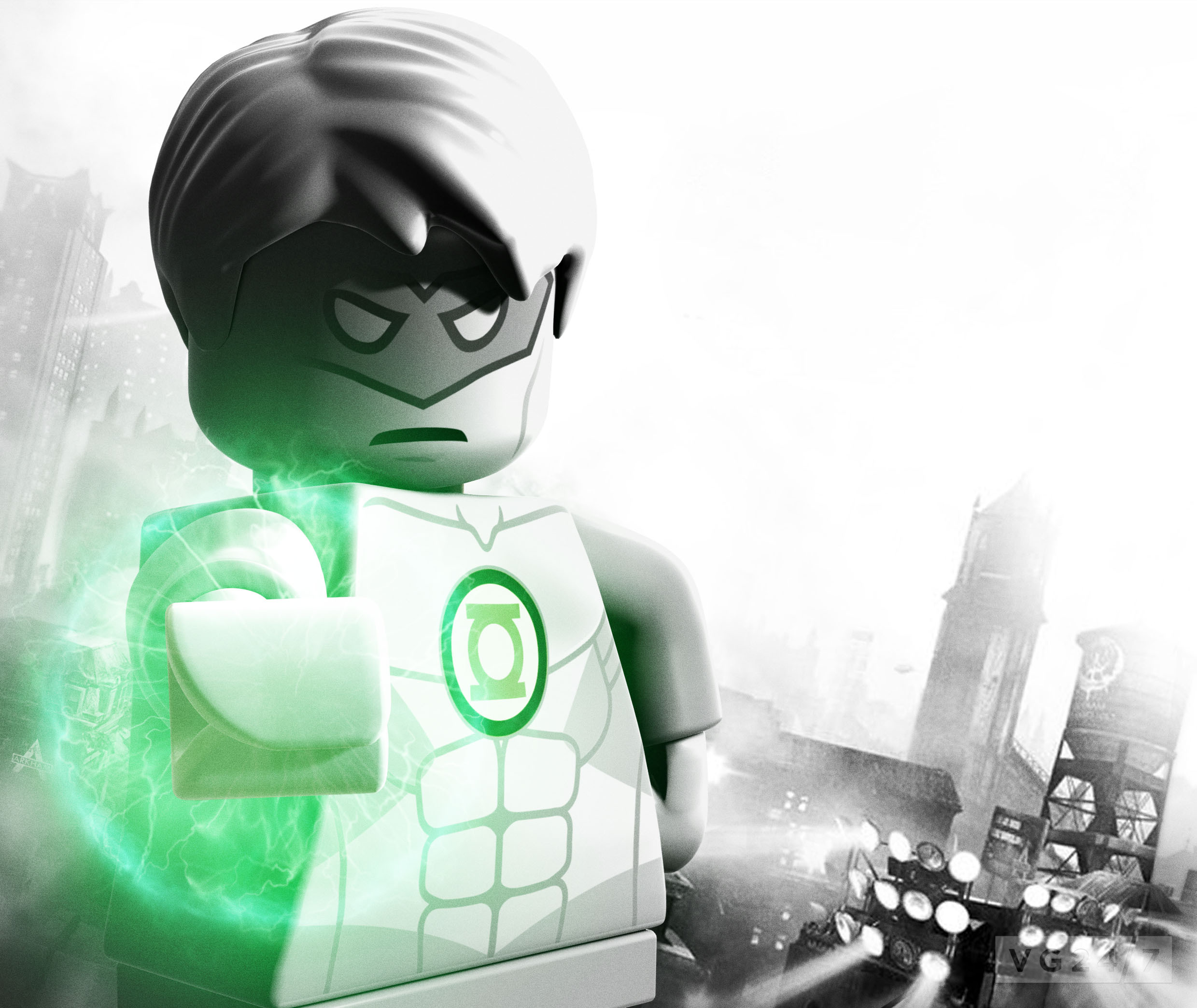 Green Lantern Lego Batman 2