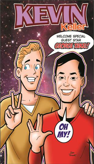 Keller is Archie's first openly gay character while Takei is a gay icon who ...