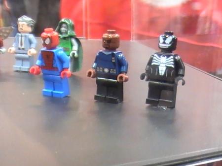 lego spider-man nick fury venom