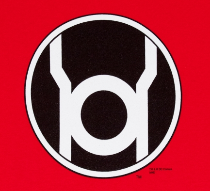 gravity wear shirt of the week red lantern corps graphic policy