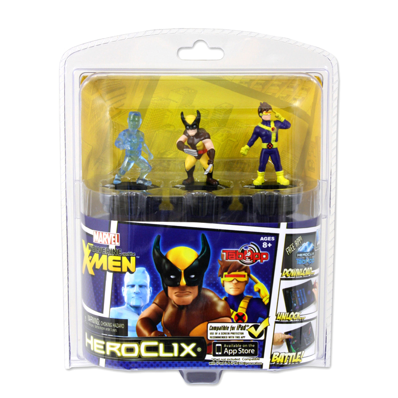 DC COMICS Heroclix tabapp MARVEL SUPER HEROES IRON MAN THOR CAPITAN AMERICA
