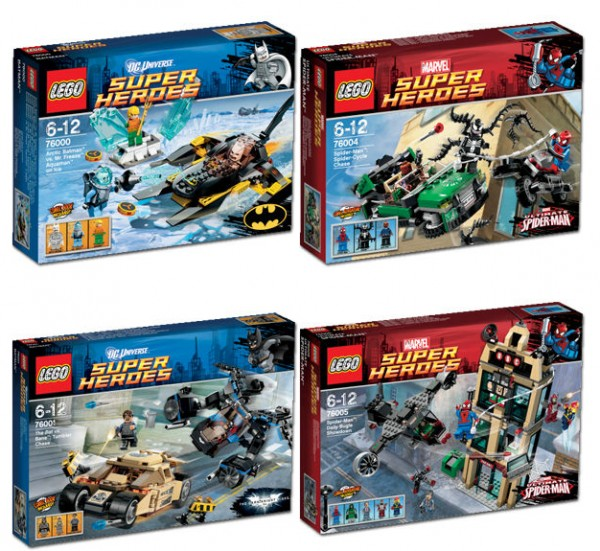 More Marvel and DC Lego Sets are - 121.2KB