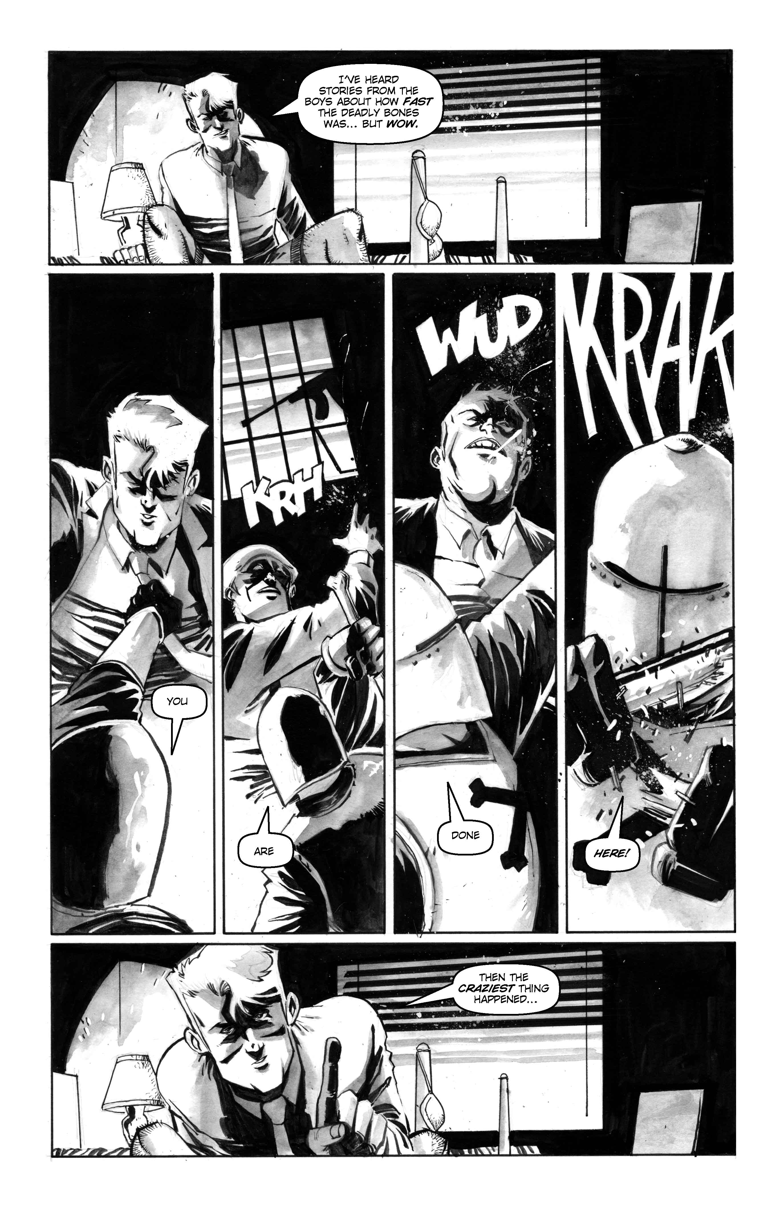 Preview - Masks and Mobsters #3 | Graphic Policy