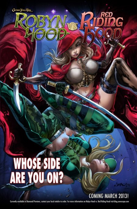 robyn hood vs little red riding hood