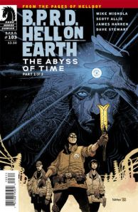 bprd hell on earth the abyss #1 cover