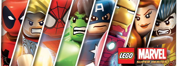 LEGO Marvel Super Heroes Are
