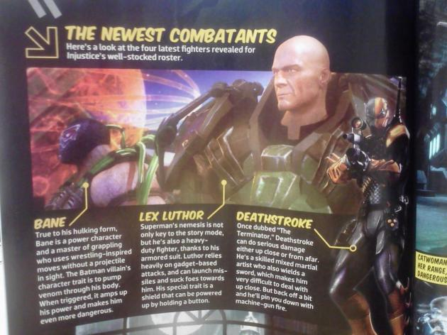 luthor bane injustice gods amongst us